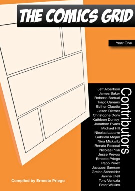 The Comics Grid. Journal of Comics Scholarship. Year One, - Ernesto Priego, editor (eBook Cover)