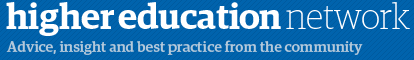 Guardian Higher Education banner