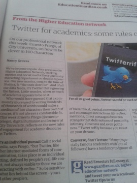 On page 33 of the Guardian's print edition, Tuesday 5 February 2013