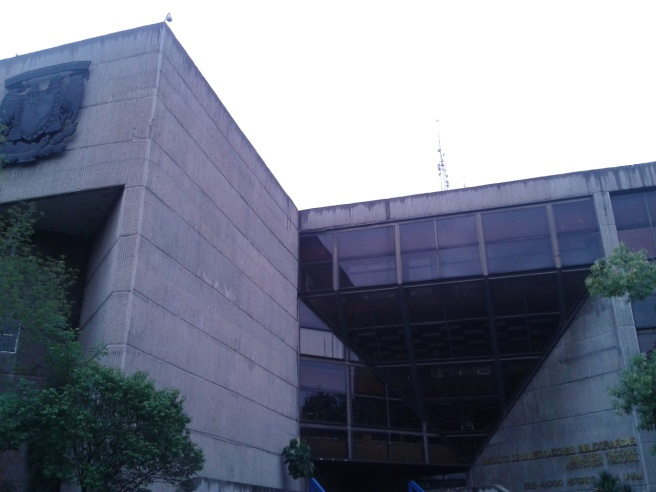 Biblioteca Nacional, Instituto de Investigaciones Bibliográficas, UNAM, México