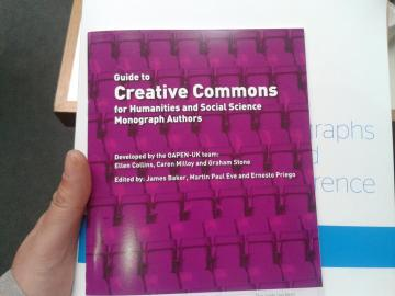 The Guide to Creative Commons for Humanities and Social Science Monograph Authors