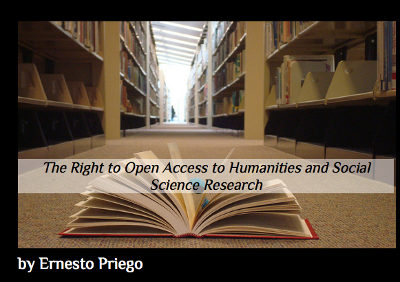 ORG Zine: The Right to Open Access to Humanities and Social Science Research