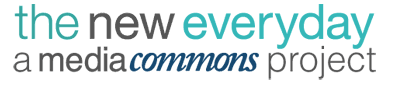 the new everyday a media commons project  logo