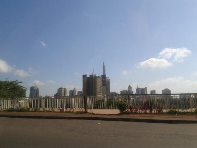 A view of the Nairobi skyline CC-BY Ernesto Priego