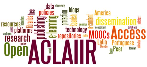 ACLAIIR word cloud