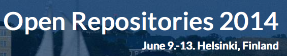 Open Repositories Conference in Helsinki in June 2014