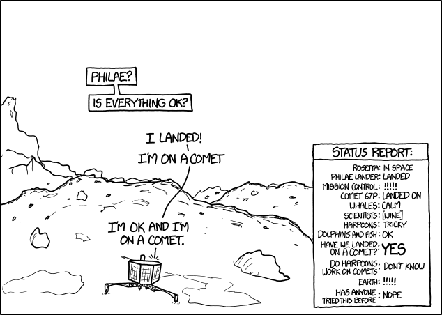 xkcd: Landing.