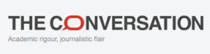 The Conversation UK logo
