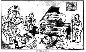 Gordon Minhinnick, 'In the Groove,' New Zealand Herald, 4 September 1952, p. 10 (© New Zealand Herald).
