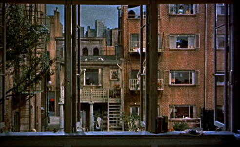 Still from Rear Window (dir. Alfred Hitchcock 1954). © 1954 Universal Pictures.