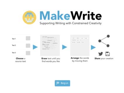 MakeWrite screenshot