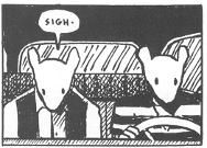 Panel from Maus by Art Spiegelman (1991)