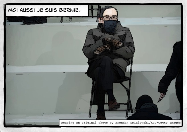 The Lockdown Chronicles Year 2: Je suis Bernie