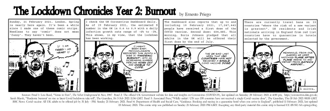 The Lockdown Chronicles Year 2- Burn Out